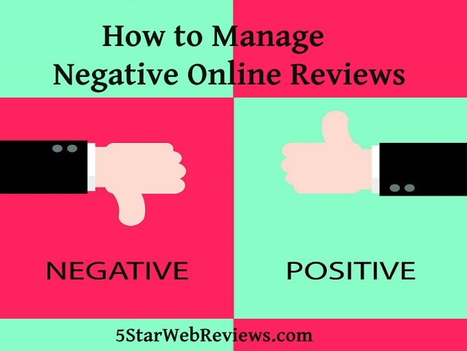 How to Manage Negative Online Reviews