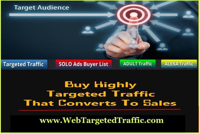 buy targeted website traffic